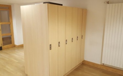 'Fit as a fiddle' lockers strike right chord for new bursar