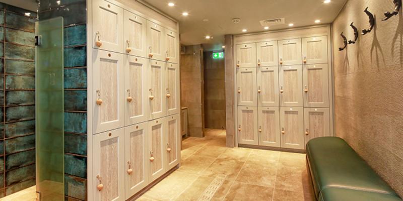 Lincombe Hall - Locker Area - Crown Sports Lockers