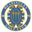 headingly golf club logo - crown sports lockers