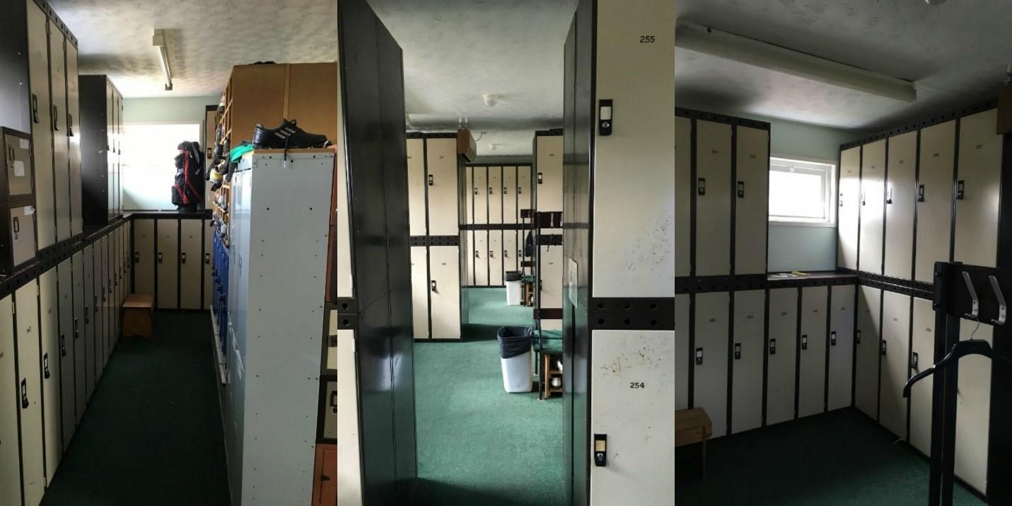 Lenzie's Old Male Locker Room