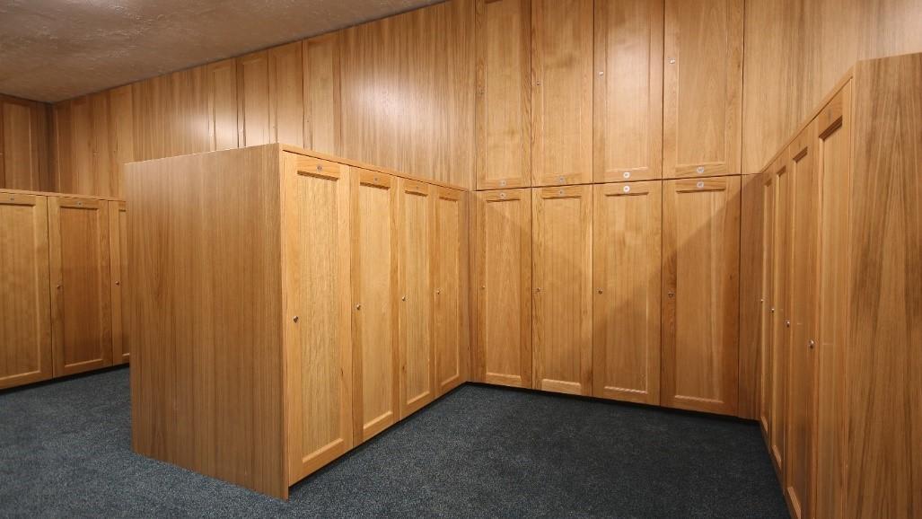 Redesigning Lenzie's Male Locker Room