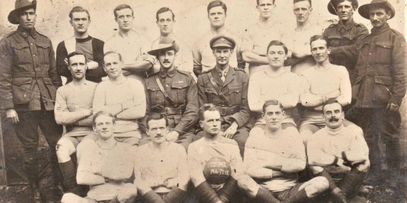 Christmas Truce - WW1 Football - Crown Sports Lockers