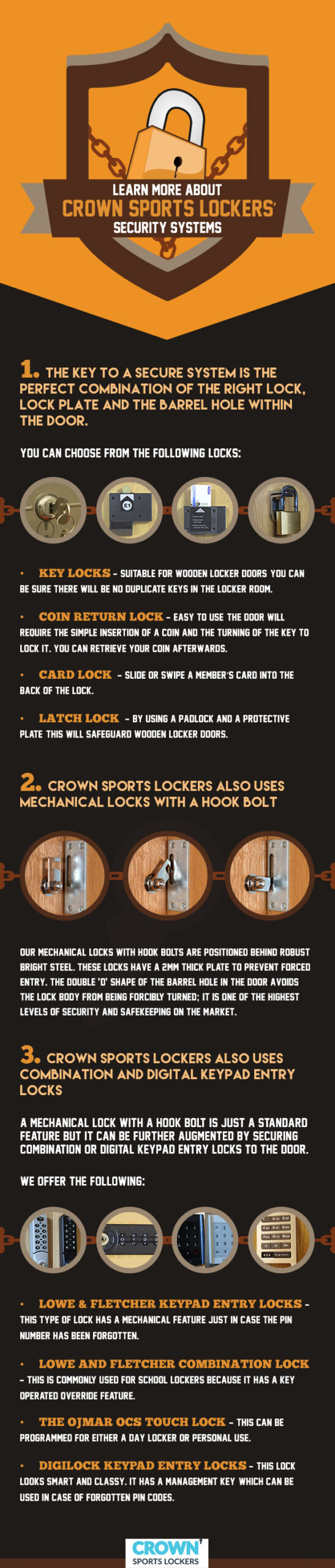 Crown-Sports-Locker-Know-more-about-Crown-Sports-Lockers-Security-System-Infographics