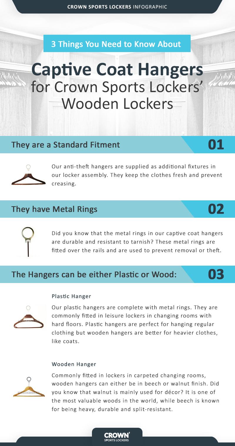 Crown Sports Lockers - Captive Coat Hangers Revised