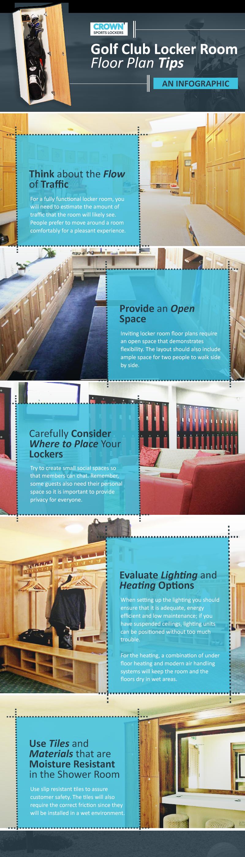 Golf Club Locker Room Floor Plan Tips