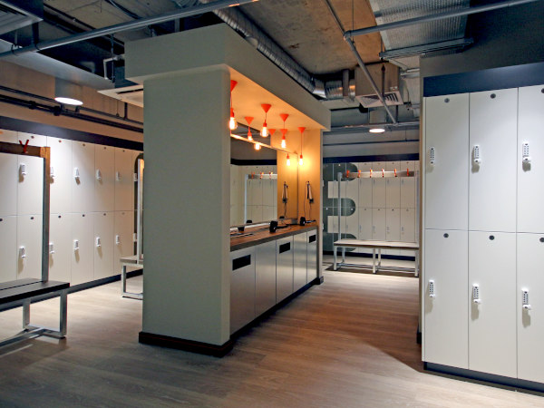 Cycle Studio - Elegant Changing Room - Crown Sports Lockers