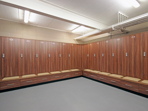 Football Changing Room - Crystal Palace - Crown Sports Lockers