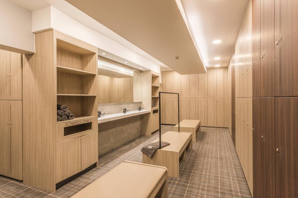Golf Lockers - Bespoke Washroom and Changing Area - Crown Sports Lockers