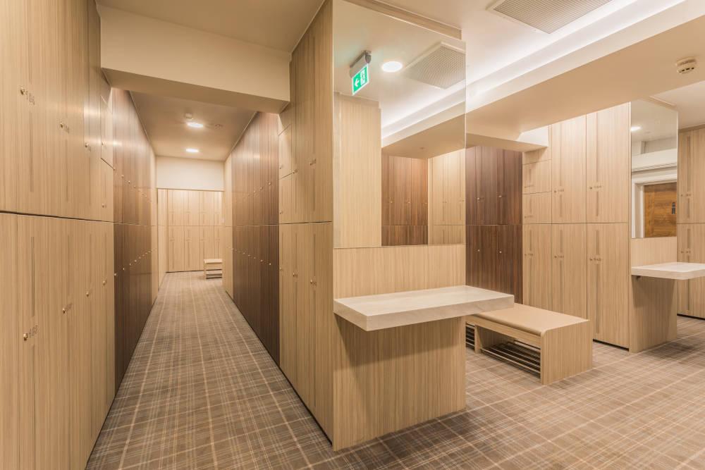 Golf Lockers - Large Bespoke Locker Room - Crown Sports Lockers