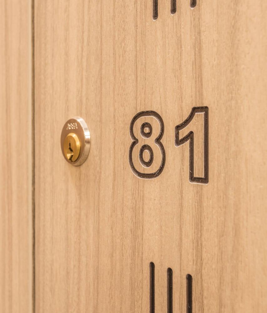 Golf Lockers - Locker Door - Crown Sports Lockers