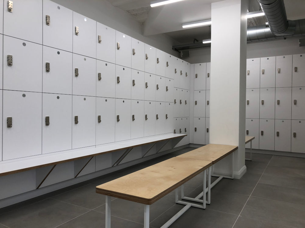Gyms Gallery Lockers - Gym Changing Room - Crown Sports Lockers