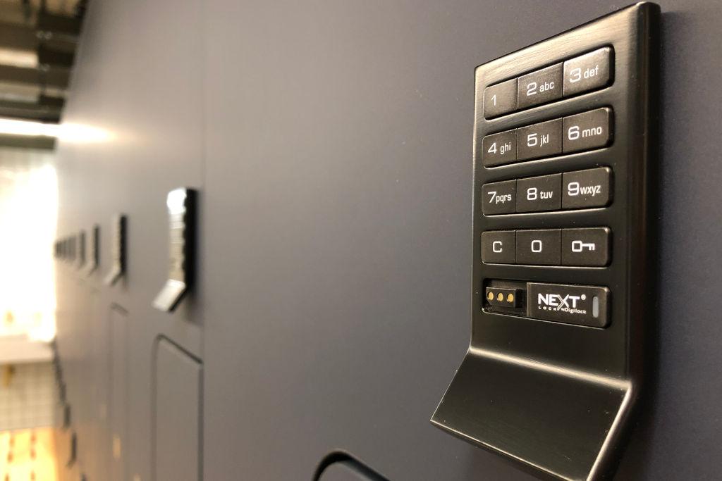 Gyms gallery Lockers - Locker Keypads - Crown Sports Lockers