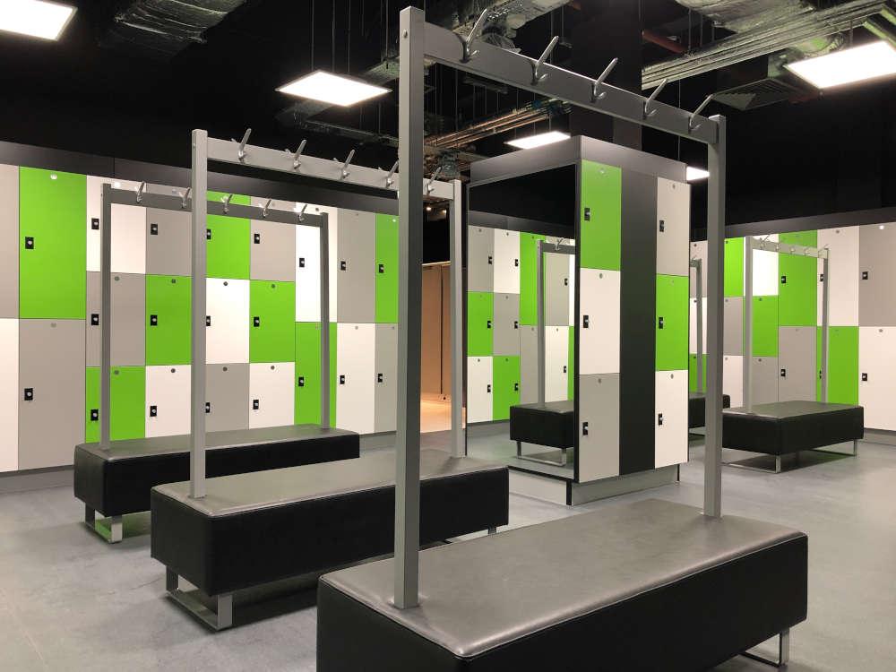 Gym Lockers - Multi Tiered Lockers - Crown Sports Lockers
