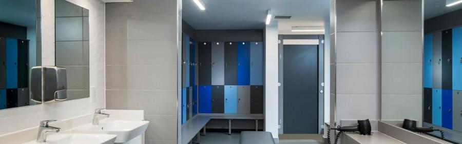 Gym Lockers - Park Inn Update - Crown Sports Lockers