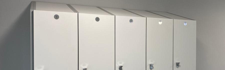 Healthcare Lockers - Antibacterial Lockers - Crown Sports Lockers