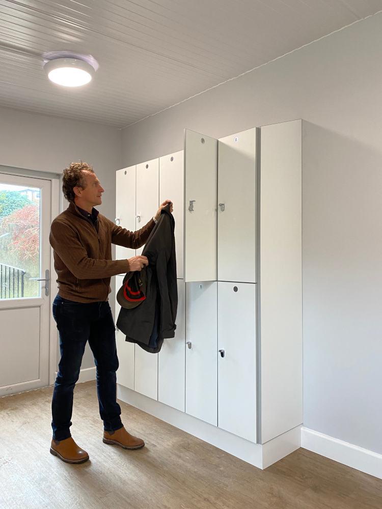 Healthcare Lockers - Locker in Use - Crown Sports Lockers