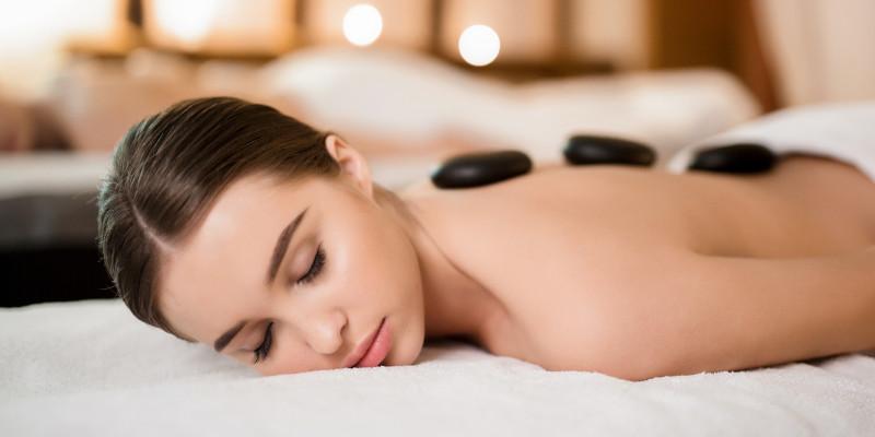 Massage Therapies - Hot Stone Massage - Crown Sports Lockers