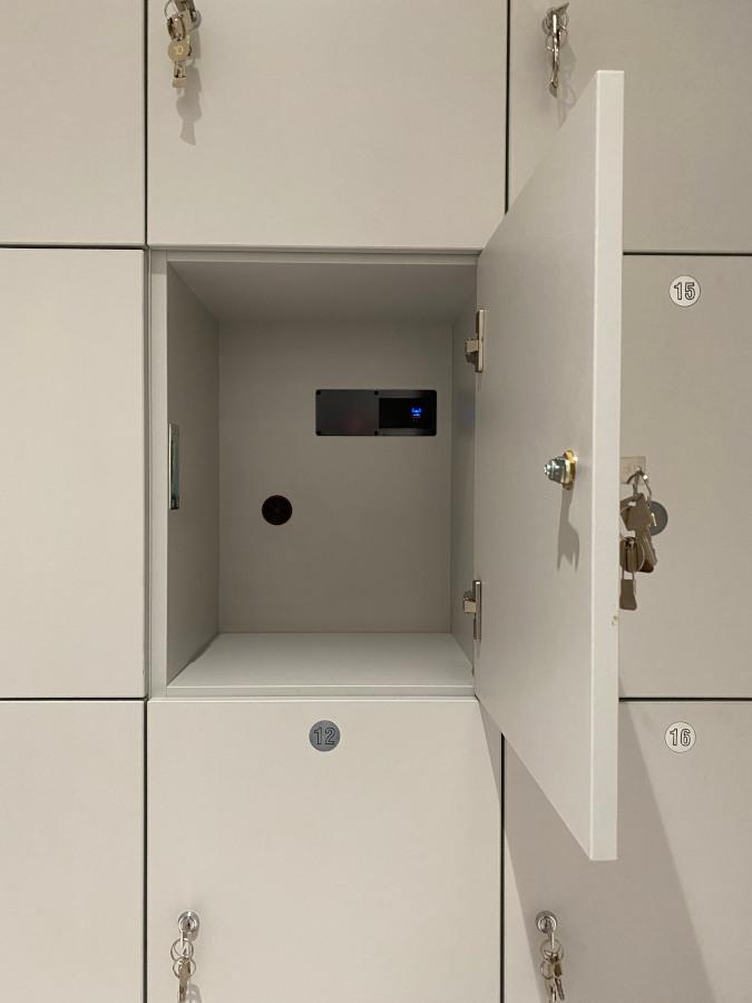 Office Lockers - Open Locker - Crown Sports Lockers