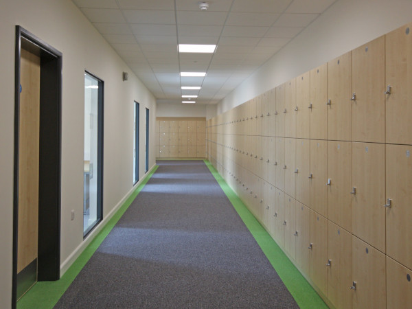 School Lockers - 3 Tier Lockers - Crown Sports Lockers