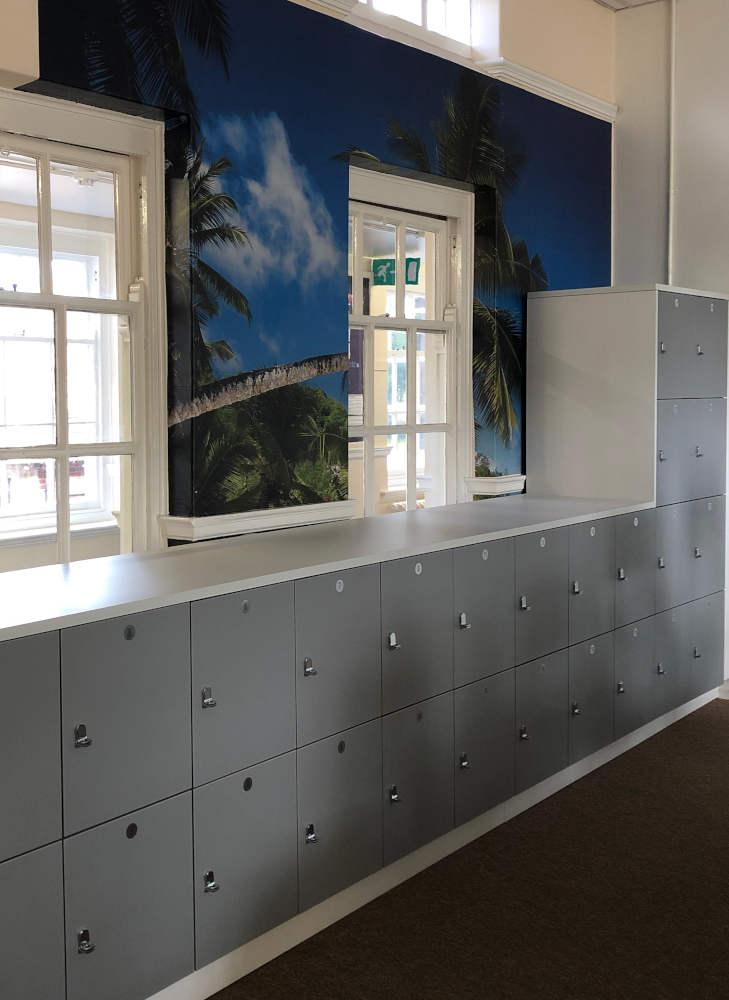 School Lockers - Grey Lockers - Crown Sports Lockers