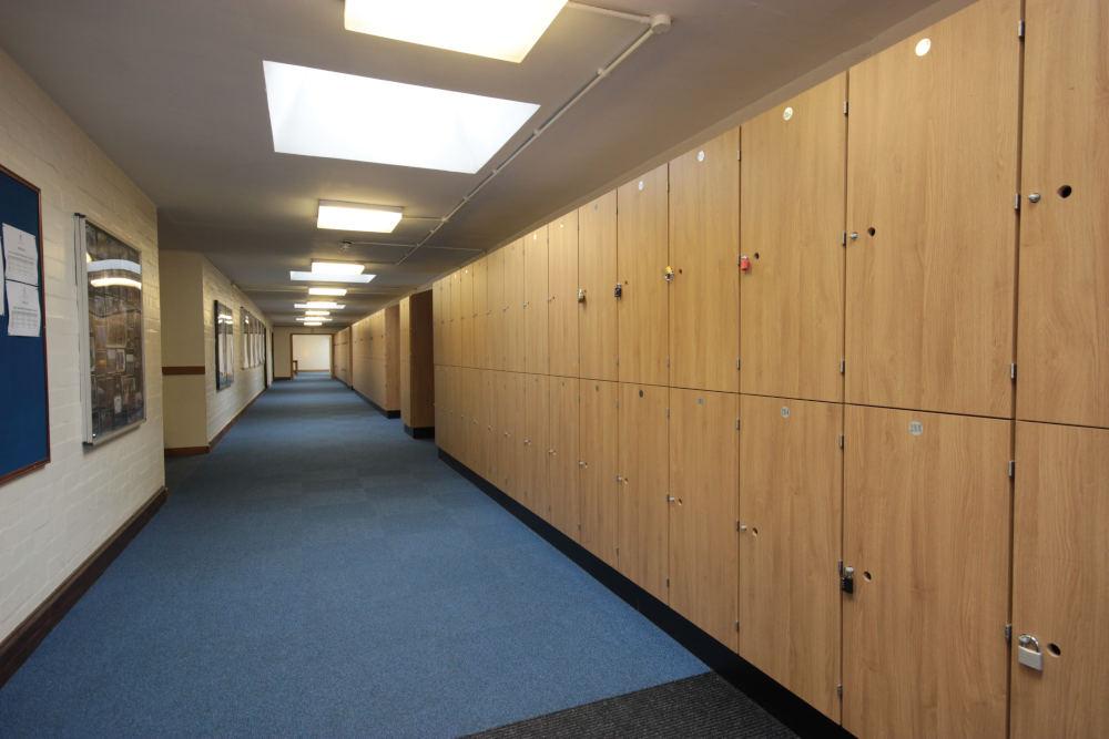 School Lockers - Wooden School Lockers - Crown Sports Lockers