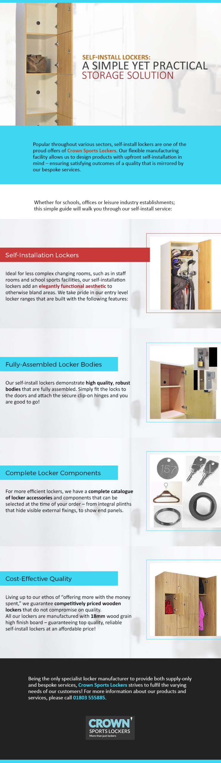 Self-install Lockers: A Simple yet Practical Storage Solution