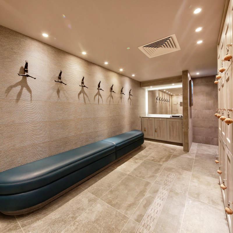 Spa Lockers - Spa Changing Room - Crown Sports Lockers