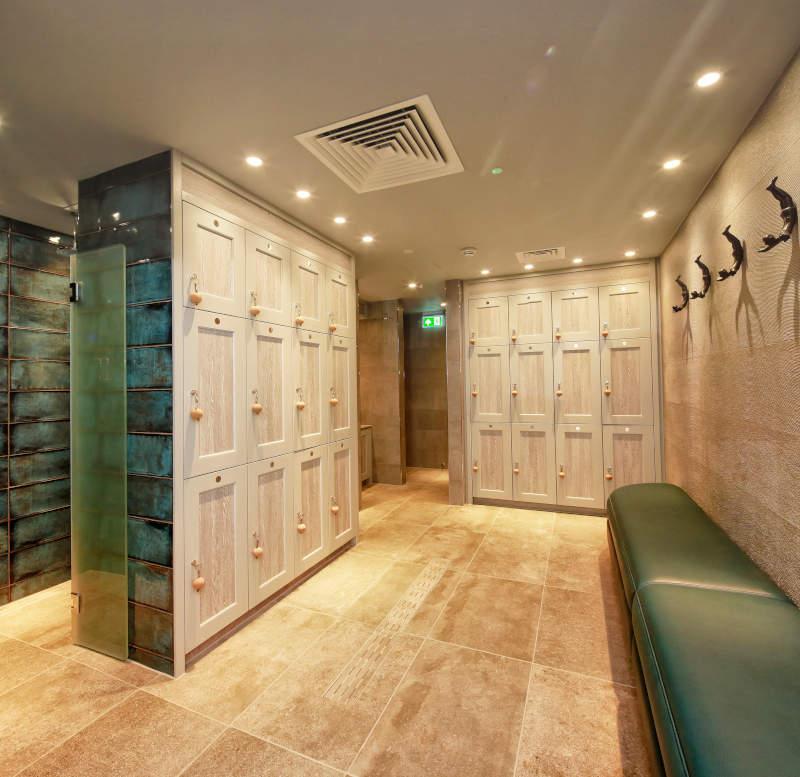 Spa Lockers - Spa Locker Seating - Crown Sports Lockers