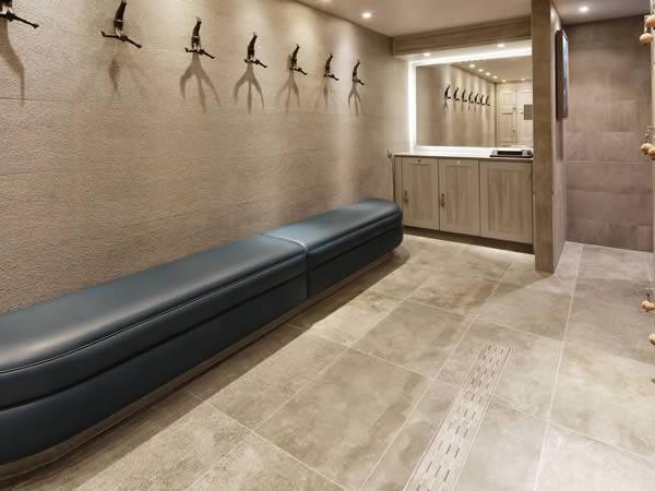 Spa Lockers-hotel lockers-Hotel Locker Room - bench seating - crown-sports-lockers