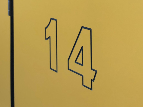 Swimming Pool Changing Rooms - Yellow Locker - Crown Sports Lockers