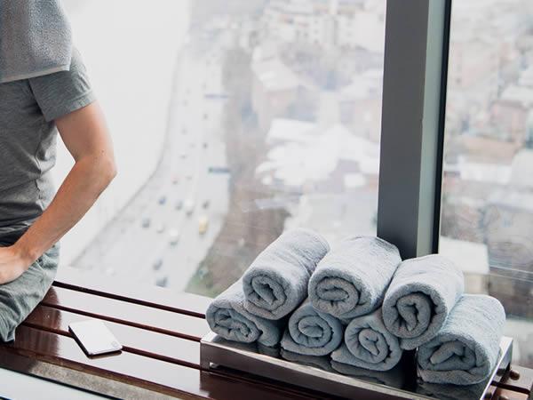 gym lockers - gym towels - crown-sports-lockers