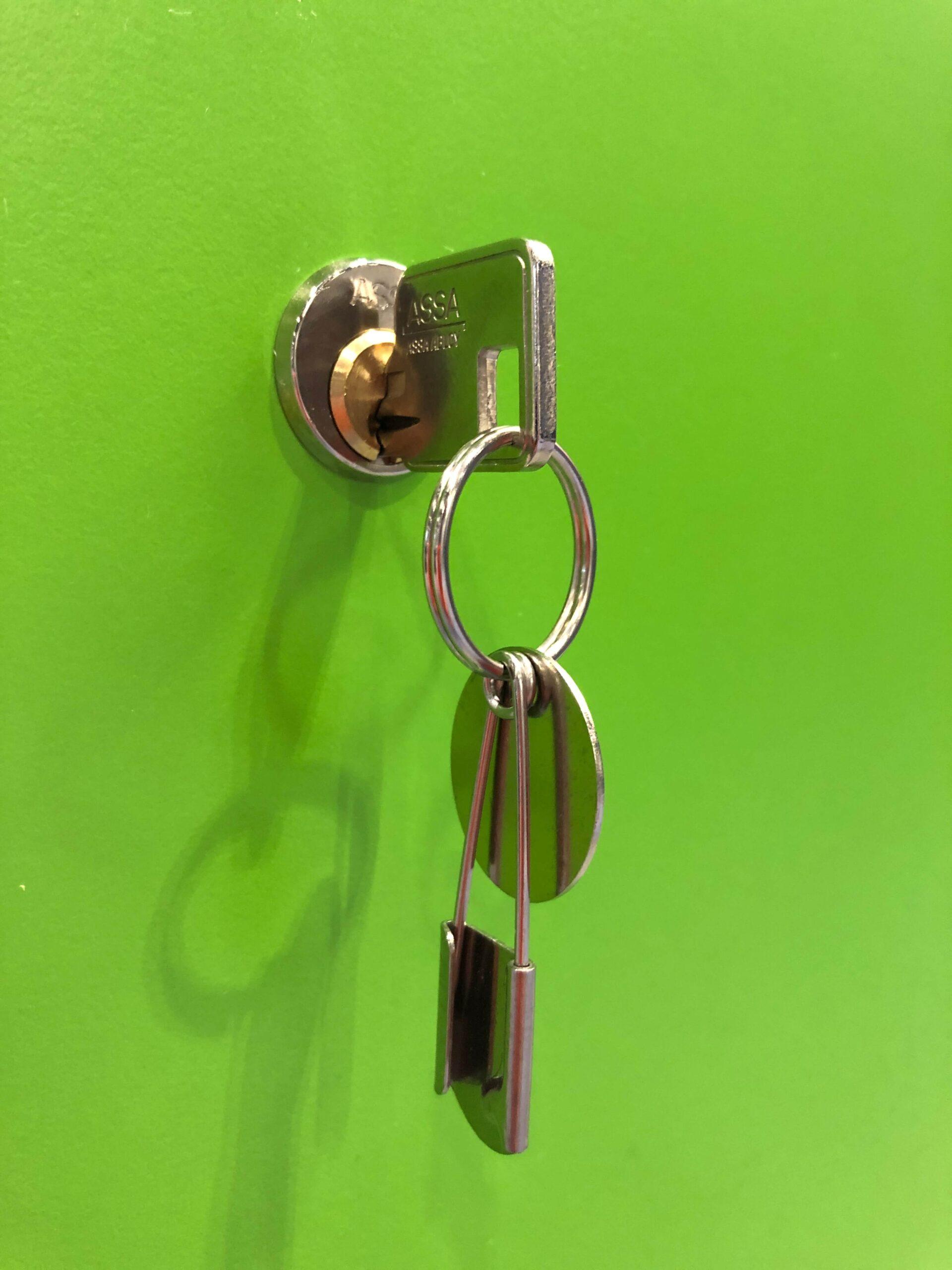 Locker Security_Key_locker_system _Crown_Sports_Lockers