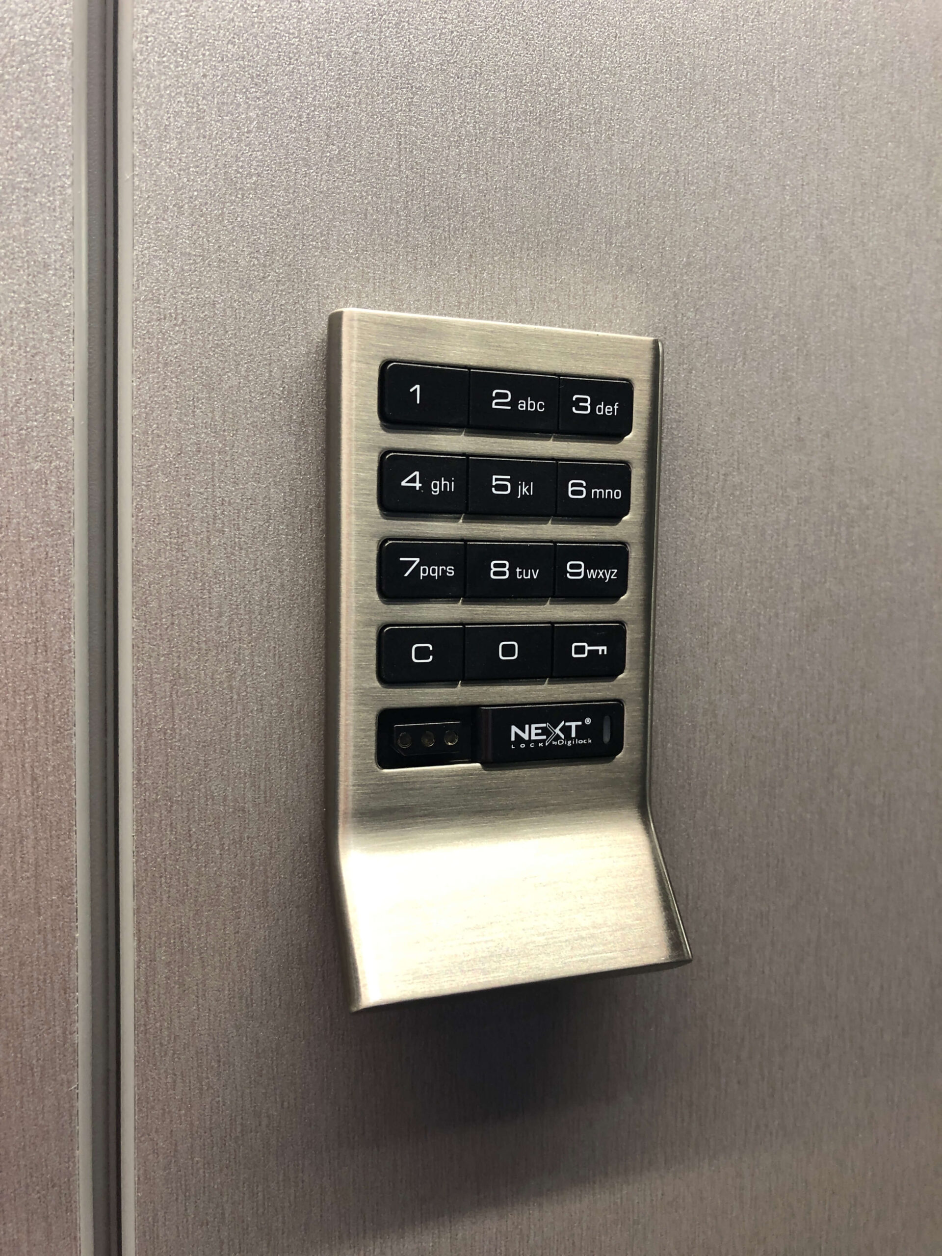 Locker Security_Keypad _Crown_Sports_Lockers