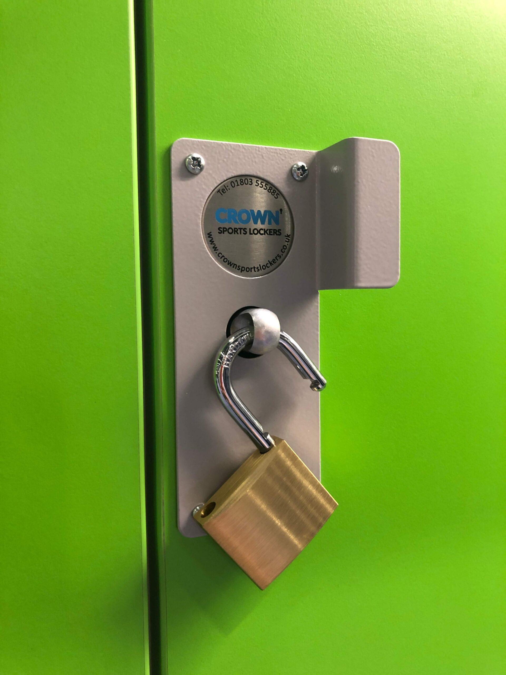Locker Security_Padlock _Crown_Sports_Lockers