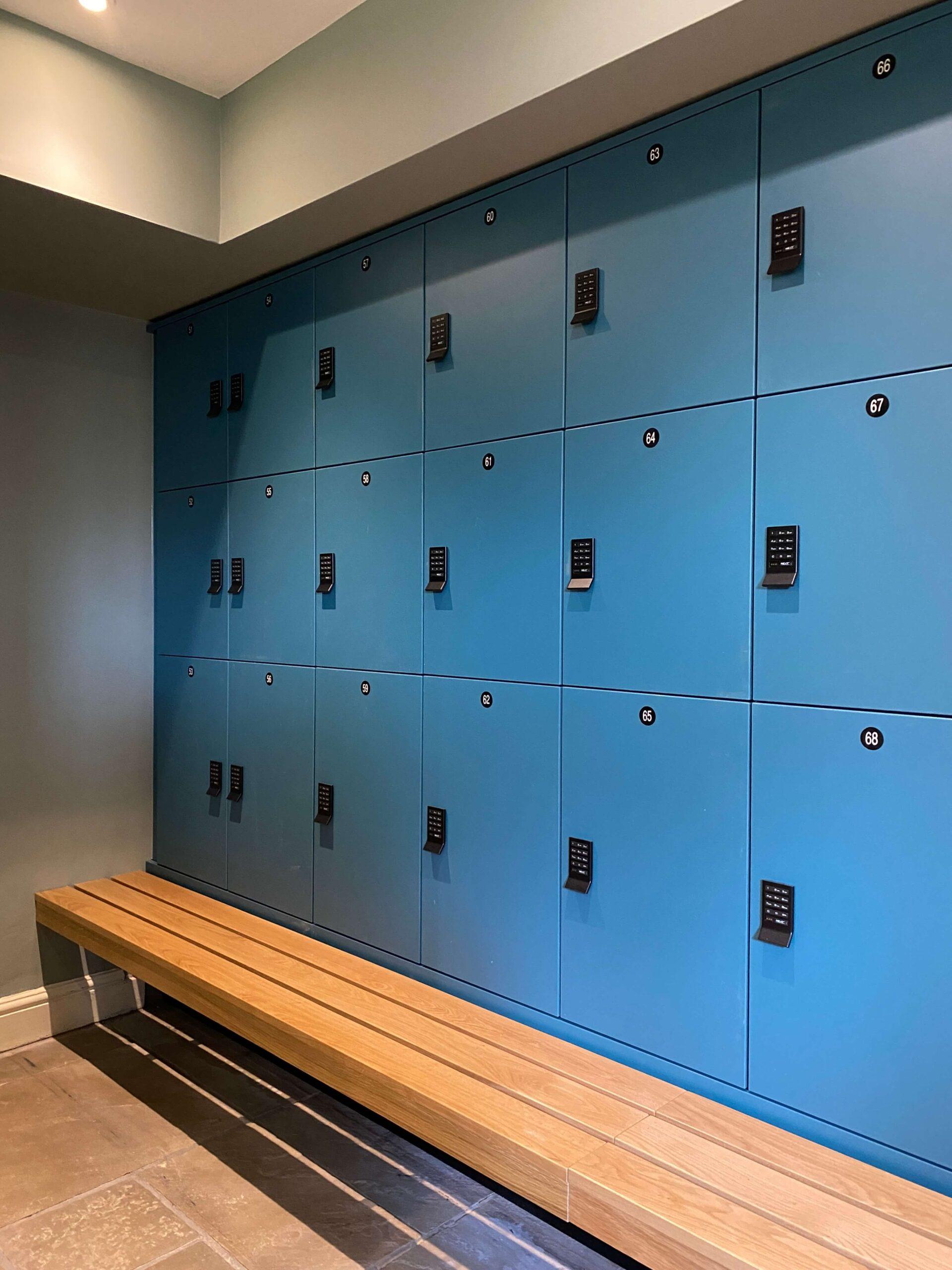 Bailiffscourt Hotel & Spa locker Solution by Crown Sports Lockers